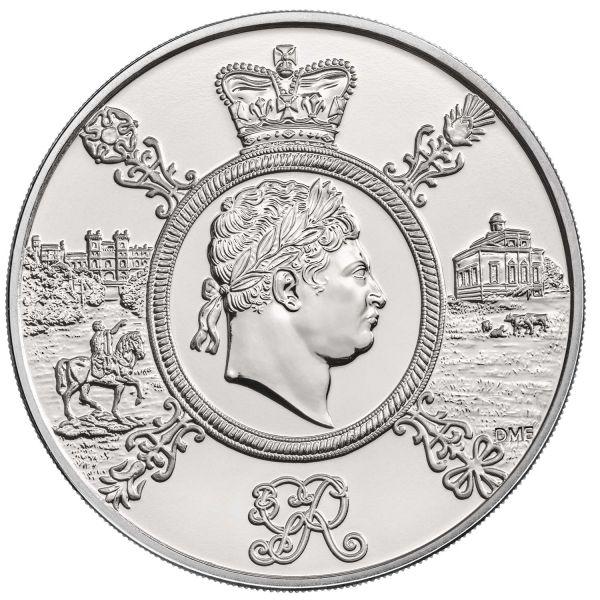 5 Pfund Großbritannien King Georg III 2020 Cuni St