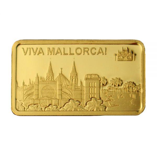 Viva Mallorca Goldbarren 1/2 g PL Facebook Instagram Deal