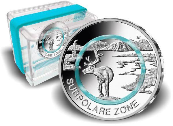 5 Euro DE Subpolare Zone 2020 CN PP