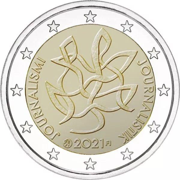 2 Euro Finnland Journalismus und Redefreiheit 2021 CN bfr