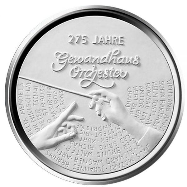 "20 € DE ""275 Jahre Gewandhausorchester"" 2018 Ag PP -G-"