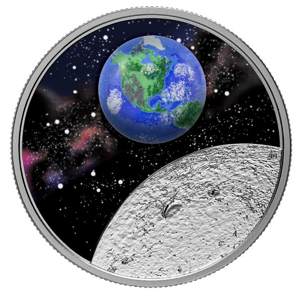 20 Dollar Kanada Mutter Erde - Unser Zuhause 2020 Silber PP