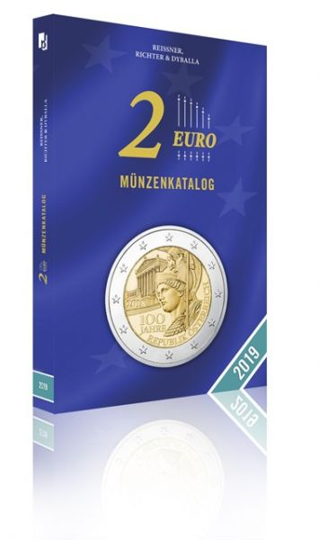 Europa: 2 Euro Münzenkatalog 2019