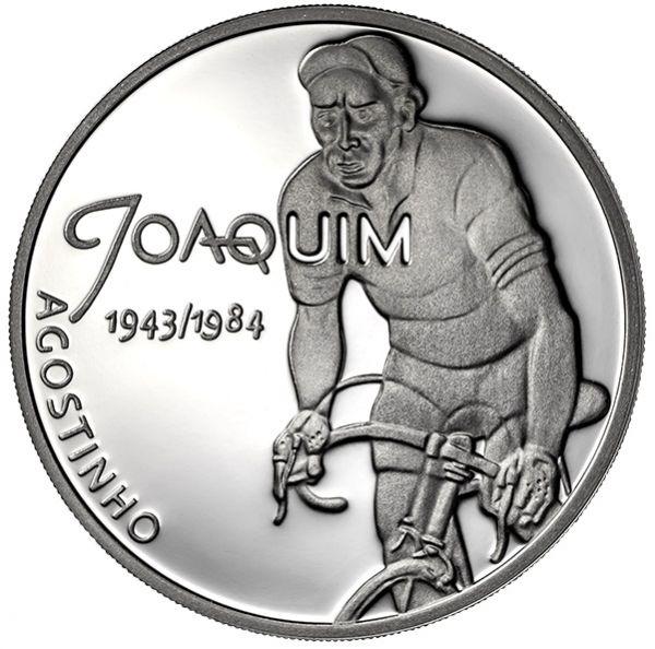 "7,50 € Portugal ""Sporthelden - Joaquim Agostinho"" 2019 Silber PP"