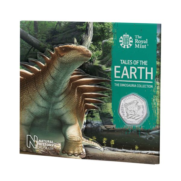 50 Pence Großbritannien Hylaeosaurus 2020 Cuni St