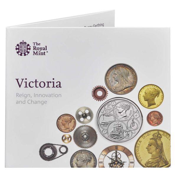 """5 £ Großbrit. """"200 GB. von Queen Victoria"""" 2019 CuNi St"""