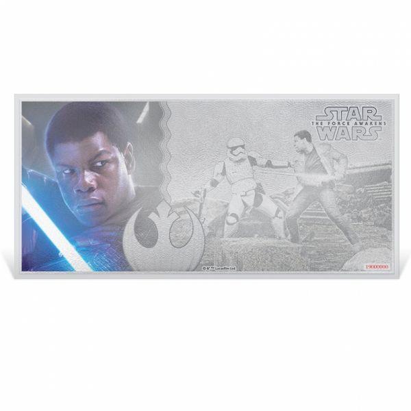 "1 Dollar Niue ""Star Wars - Finn"" Banknote 2019 Silber St"