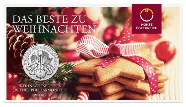 1,50 € Öster. Philharmoniker - Weihnachtsedition 2019 Silber St