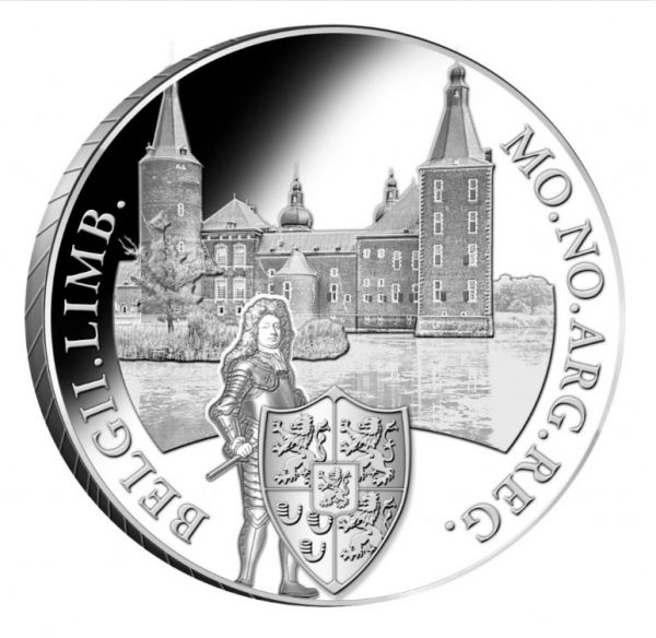 1 Dukat Niederlande Hoensbroek 2020 Silber PP
