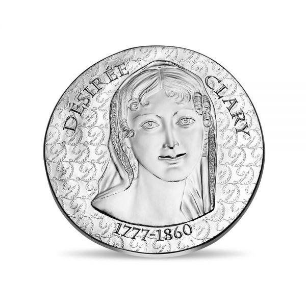 """10 € Frankreich """"Desirée Clary"""" 2018 Silber PP"""